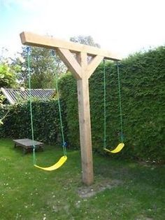 Easy swingset