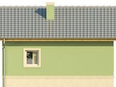 Elewacja KR DOMEK 1 CE Tiny House Design, Shelves, Home Decor, Shelving, Decoration Home, Room Decor, Shelving Units, Miniature Houses, Tiny House Living