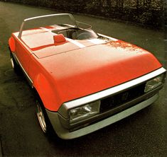 1976 - Pininfarina Peugette Concept based on the Peugeot 104 ZS