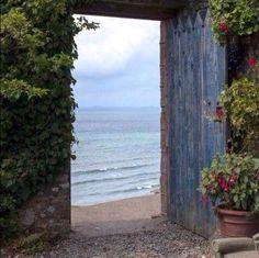 The door to the great outdoors!