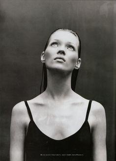 Kate Moss by Patrick Demarchelier  Harper's Bazaar  July 1993