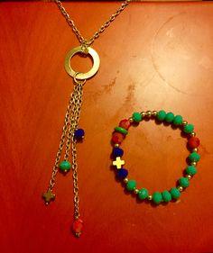 Hermoso set de collar y pulsera