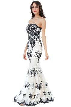 85ecdbab726ee Strapless Sequin Embroidered Maxi Dress - Nude - Front - DR966 Online Dress  Shopping