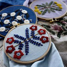 foto di Yumiko higuchi embroidery.