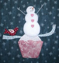 """Forever Stitching: BUNNY HILL'S Jumping for JOY """"SNOWBOUND"""