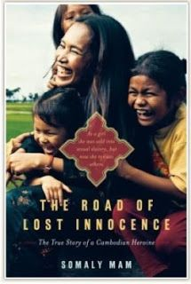 Somaly Mam's book about her life - sold to a brothel and now rescues girls in Cambodia.  Featured in Half the Sky.