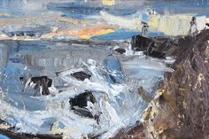 The two sides of painter Joan Eardley on The Spectator Abstract Landscape Painting, Seascape Paintings, Landscape Art, Landscape Paintings, Lucian Freud, Tamara Lempicka, Glasgow, Francoise Gilot, Abstract Geometric Art