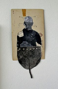 silent parrot press: November 2010 by Glen Skien. Collages, Mixed Media Collage, Collage Art, Poesia Visual, Box Art, Art Boxes, Creation Art, Art Sculpture, Photocollage