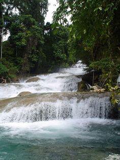 Aliwagwag Falls in Cateel, Davao del Norte.