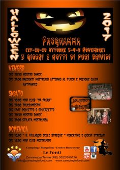 Halloween Bis al Camping Le Fonti #giropercampeggi #campeggi #camper #tenda