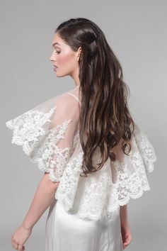 Final sale sample sale bridal cape bridal capelet for How to ship a wedding dress usps