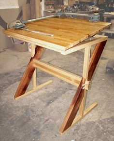 Plans to build Drafting Table Plans PDF download Drafting table plans How to Make a Drawing Drafting Table for 50 Http KKEEYY Welcome to the Unplugged Woodshop YouTube channel Woodworking videos My