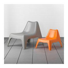 BUNSÖ Kindersessel/außen - orange - IKEA