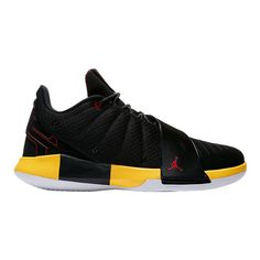 bbdfaf28734a52 Nike Men s Jordan CP3.IX Basketball Shoes - Black Red Yellow