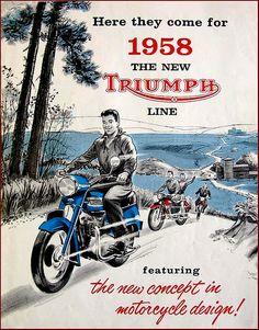 1958 Triumph USA Brochure Cover