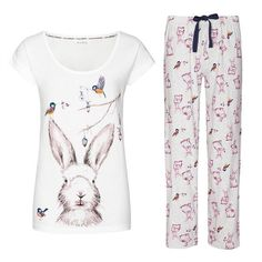AVON Hare pjs pyjamas Ribbon Tied Ideal Gift Sizes 10-12 14-16 18-20   22-24  (9) 5a6dbcdf3