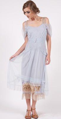 40152 Blue Pampered Doll Nataya Tulle Dress
