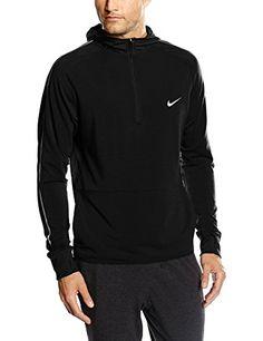 NIKE pull à capuche pour homme dri-fIT sweat à capuche zippé et sprint
