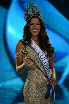 Paulina Vega (Miss Universe 2014) Grandmother Paulina Vega, Elvira Gomez, once became the beauty queen of the department of Atlantico. Granddaughter surpassed her grandmother – Paulina Vega won first at the competition department, then – at the national level, and later – became the beauty queen of...