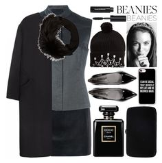 """Bad Hair Day: Beanies"" by grozdana-v ❤ liked on Polyvore featuring McQ by Alexander McQueen, Prada, Non, Markus Lupfer, Lanvin, TIARA, Casetify, Sergio Rossi, Bobbi Brown Cosmetics and beanies"