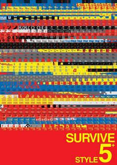 Survive Style 5+ poster. This movie is so baddddassss