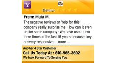 The negative reviews on Yelp for this company really surprise me. How can it even be the...