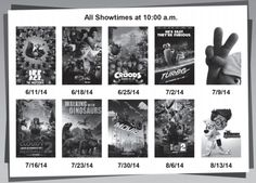 Free Fun in Austin: Cinemark Summer Movie Clubhouse 2014-Hill Country Galleria