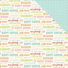 Beautiful Easter papers from Echo Park available at Crafts U Love http://www.craftsulove.co.uk/papers.htm