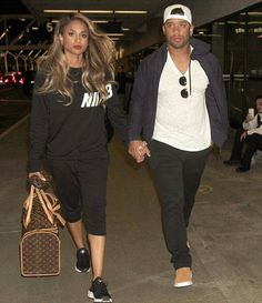 Future Baby Daddy Ruswilson Ciara Spotted At Lax International Airport