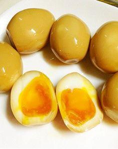 半熟とろとろ♥味付け卵(煮卵)♥一番簡単