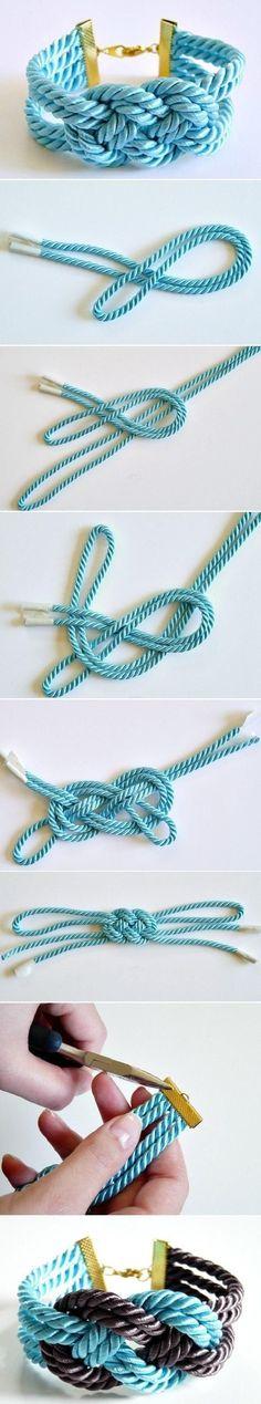 DIY Lovely Thick Bracelet DIY Lovely Thick Bracelet by fsdsfds