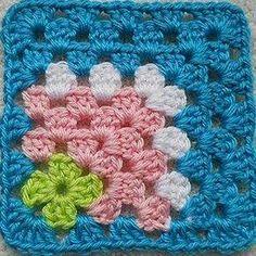 Galería: 30 Grannys a Crochet | CTejidas [Crochet y Dos Agujas]