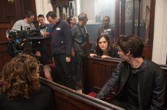 Zoey Deutch and Dominic Sherwood Vampire Academy BTS