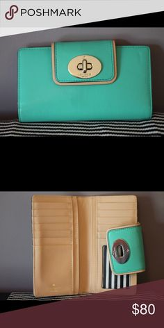 Kate Spade Wallet Only used a few times, great condition! kate spade Bags Wallets