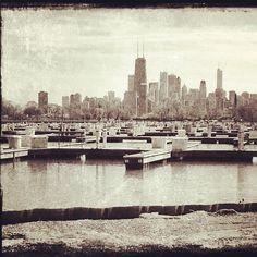 #DiverseyHarbor #Skyline #Chicago #ReadyForBoatSeason #DockD