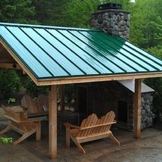 covered deck idea