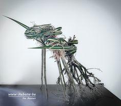 "Arrangement inspired by ""flight"""