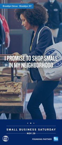 Brooklyn Circus is the place to find timeless looks inspired by history. Finding a neighborhood store with standout styles is one of the best parts of shopping locally. On Nov 29, we promise to #ShopSmall. Invite your friends and family to celebrate Small Business Saturday.