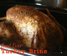 Make the most mouth-watering and delicious turkey ever with this amazing brine and rub combo.