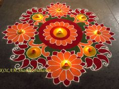 Rangoli Easy Rangoli Designs Videos, Easy Rangoli Designs Diwali, Indian Rangoli Designs, Simple Rangoli Designs Images, Rangoli Designs Flower, Free Hand Rangoli Design, Rangoli Border Designs, Small Rangoli Design, Rangoli Patterns