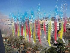 Travel: Mascleta at Fallas Festival in Valencia, Spain Best Fireworks, Fireworks Photos, Valencia City, Spanish Holidays, Spain Travel, Learning Spanish, Malaga, The Dreamers, Around The Worlds