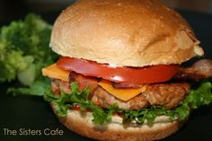 WW TURKEY BURGER -The Sisters Cafe