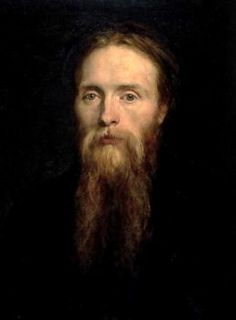 Sir Edward Burne-Jones (1833-98) by George Frederick Watts 1870