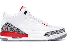 Buy and sell authentic Jordan 3 Retro Hall of Fame shoes and thousands of other Jordan sneakers with price data and release dates. Sneakers Nike Jordan, Jordans Sneakers, Shoes Sneakers, Shoes Heels, Air Jordan 3, Popular Sneakers, Nike Shoes Outfits, Moda Casual, Tennis