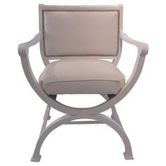 Check out this item at One Kings Lane! White Lacquered Chair