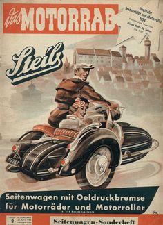 Vintage Steib Sidecar Advertisement