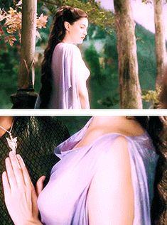 Arwen Purple Dream Dress Of the rings myshit arwen