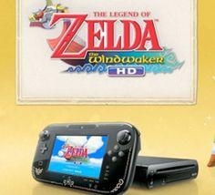 Wii U bundle with The Wind Waker HD and Zelda GamePad design leaked |  #WiiU #TWWHD