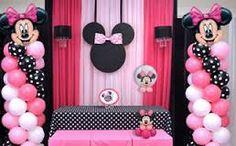 Resultado de imagen para minnie mouse balloons decorations