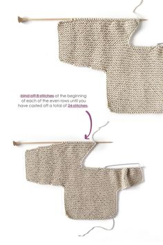 How do I create a knitted kimono baby jacket? How do I create a knitted kimono baby jacket? , How to make a Knitted Kimono Baby Jacket - Free knitting Pattern & tutorial , Knit Source by mikkipon. Baby Cardigan Knitting Pattern Free, Baby Sweater Patterns, Knitted Baby Cardigan, Knit Baby Sweaters, Baby Knitting Patterns, Baby Patterns, Free Knitting, Baby Knits, Knitting Yarn